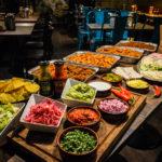 Oväntade bröllopsbuffén: Tacos