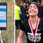 """Caroline, 30: """"Appen gör det kul att träna inför halvmaran"""""""