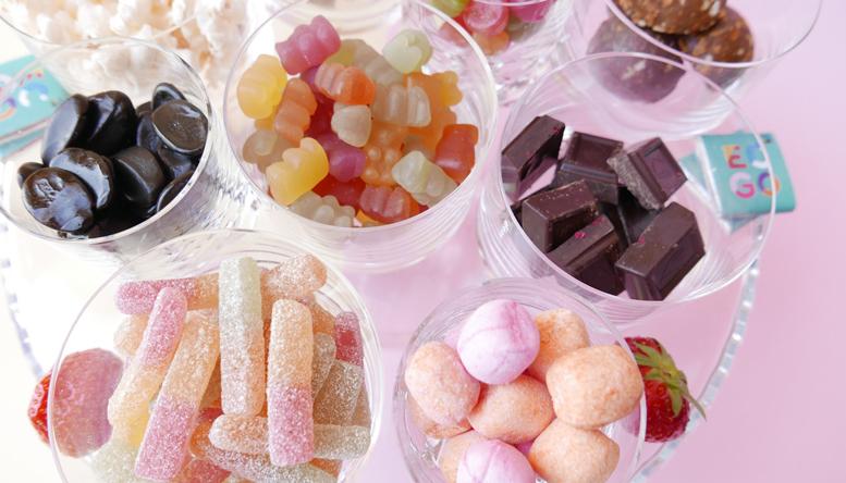 vad kan man äta istället för godis