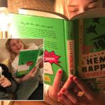 """11-åringen tipsar om årets julklapp: """"Det är världens bästa bok"""""""