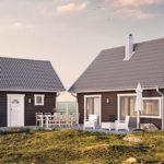 Hitta ditt nya drömhus bland Landsbrovillans nya fritidshusmodeller