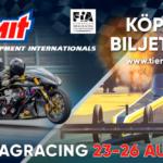 EM i dragracing avgörs 23-26 augusti på Tierp Arena