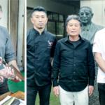 Tareq Taylor besöker japanska knivjätten Mcusta Zanmai