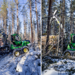 Här är skogsmaskinerna som tillvaratar skogsbrukets miljöeffekter