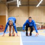 Albin kombinerade gymnasiet med friidrott – och siktar mot Tokyo