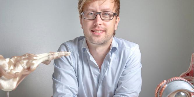 Hornhinneforskning tar avstamp i hälsenan