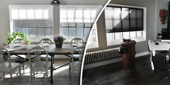 Så kan du skapa ett vackert hem – med plisségardiner
