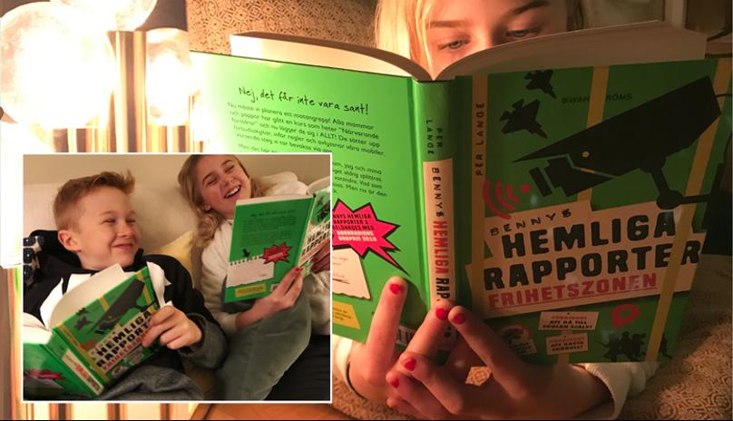 """11-åringen tipsar om årets julklapp: """"Världens bästa bok"""""""